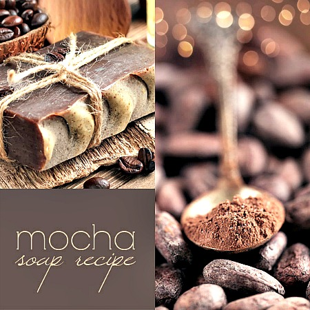 Homemade Coffee Mocha Soap Recipe