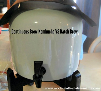 How to Make Kombucha Using the Continuous Brew Method