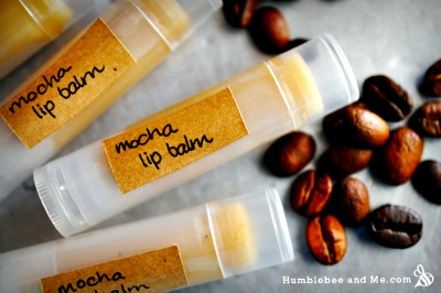 DIY Mocha Lip Balm Recipe
