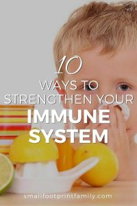 10 Ways to Strengthen Immune System