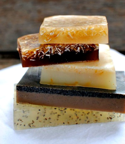 4 Different Homemade Exfoliating Soap Recipes