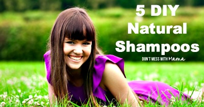5 DIY Natural Shampoo Recipes