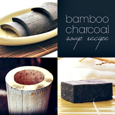 Homemade Bamboo Charcoal Soap Recipe