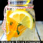 Homemade Natural Belly Slimming Detox Water Recipe