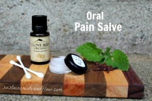 Homemade Salve for Oral Pain