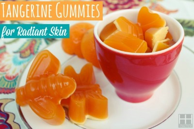 Homemade Tangerine Gummies That Make Your Skin Radiant