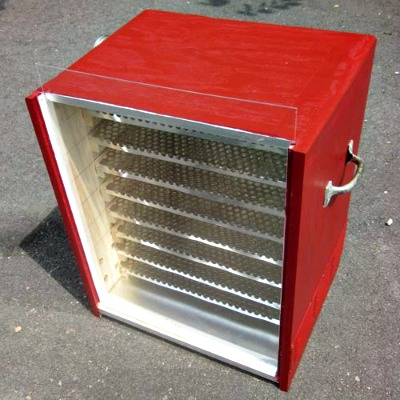 How to Build a Passive Solar Food Dehydrator