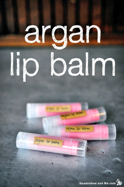 How to Make Blushing Argan Lip Balm