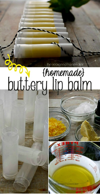 How to Make DIY Buttery Lip Balm