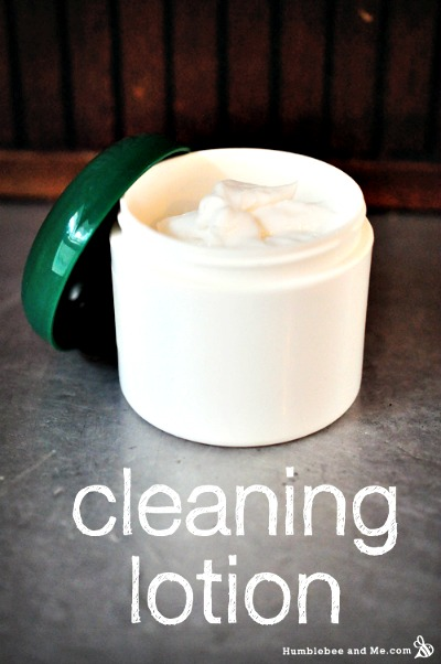 How to Make Homemade Lemon Cream Cleaning Lotion