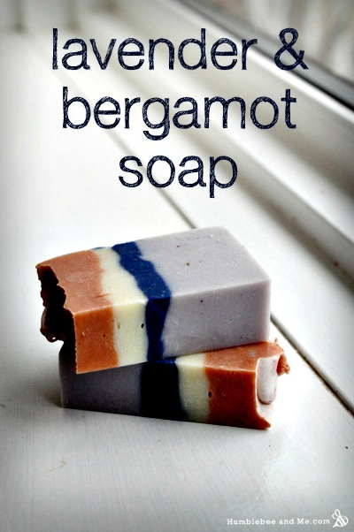How to Make Lavender & Bergamot Soap