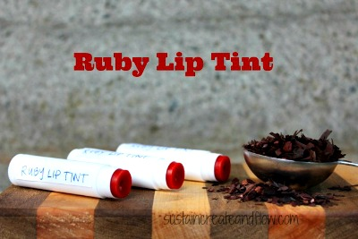 How to Make Ruby Lip Tint