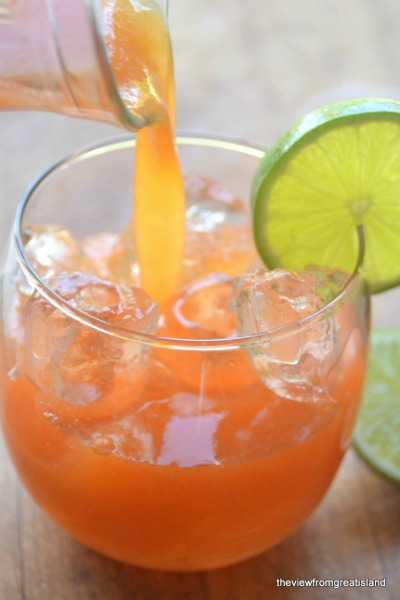 Papaya and Lime Agua Fresca Recipe