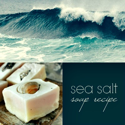 Homemade Sea Salt Soap Recipe