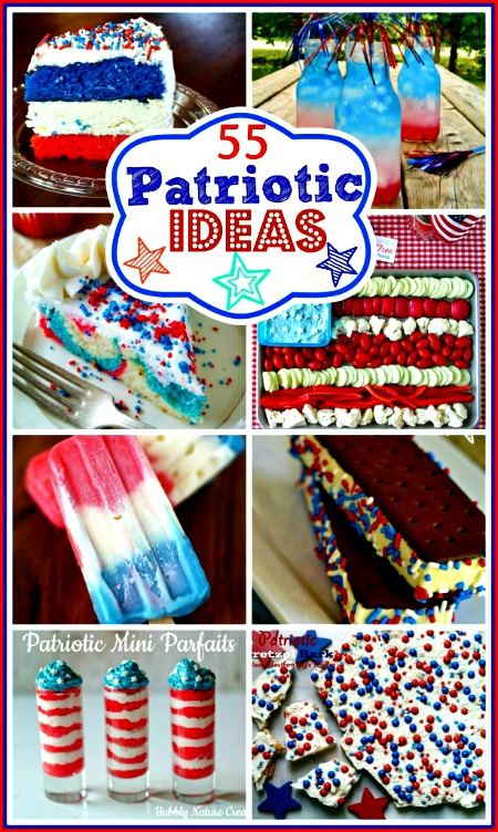 55 Patriotic Recipes & Ideas
