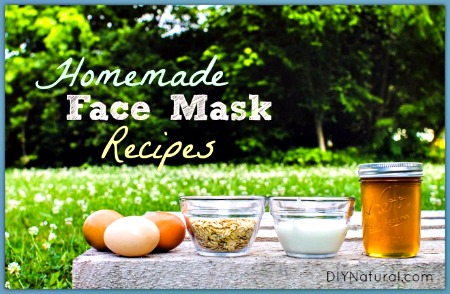 Homemade Face Masks – Base Recipes and Add-ins