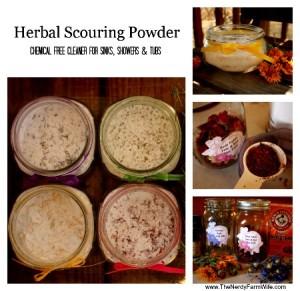 Homemade Herbal Scouring Powder Recipe