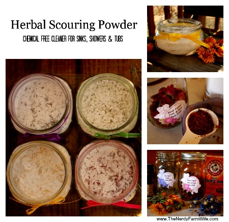 Homemade Herbal Scouring Powder Recipe