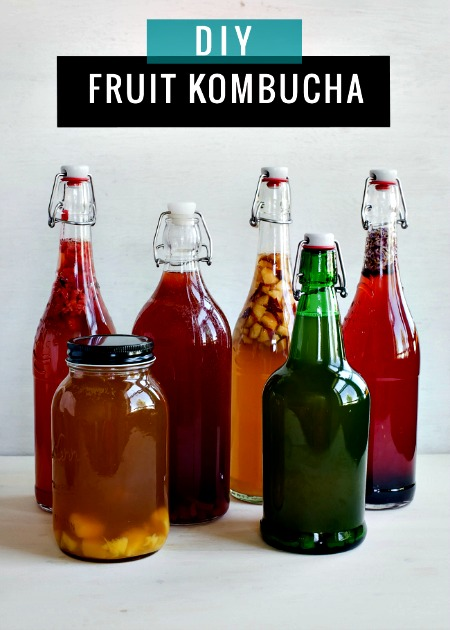How to Make Continuous Brew Kombucha (+ 6 Flavor Ideas)