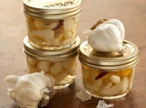 Medicinal Pickled Garlic