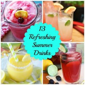 13 Refreshing Summer Drink Recipes