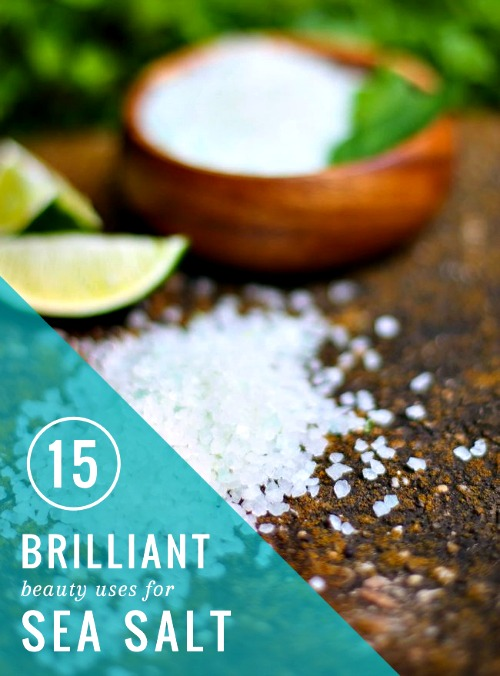 15 Brilliant Beauty Uses For Sea Salt