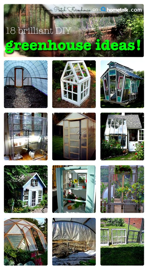 18 Fantastic DIY Greenhouses