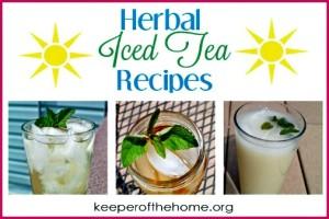 3 Herbal Iced Tea Recipes to Beat the Heat