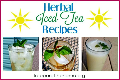 3 Herbal Iced Tea Recipes to Beat the Heat