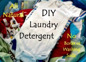 DIY All-Natural Laundry Soap without Borax or Washing Soda