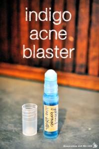 Homemade Indigo Blue Acne Blaster Remedy