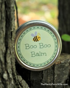 How to Make Homemade Boo Boo Balm