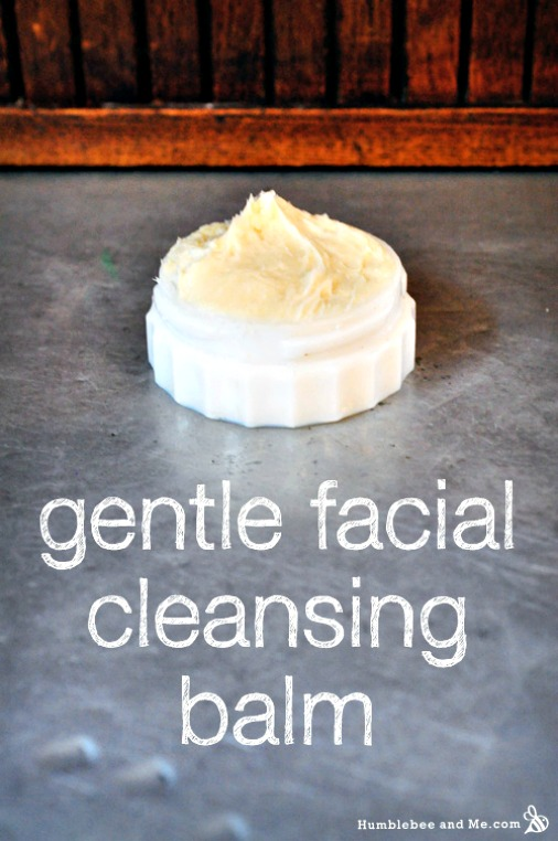 How to Make a Gentle Facial Cleansing Balm