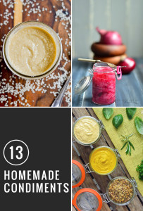13 Creative Condiment Recipes to Make at Home