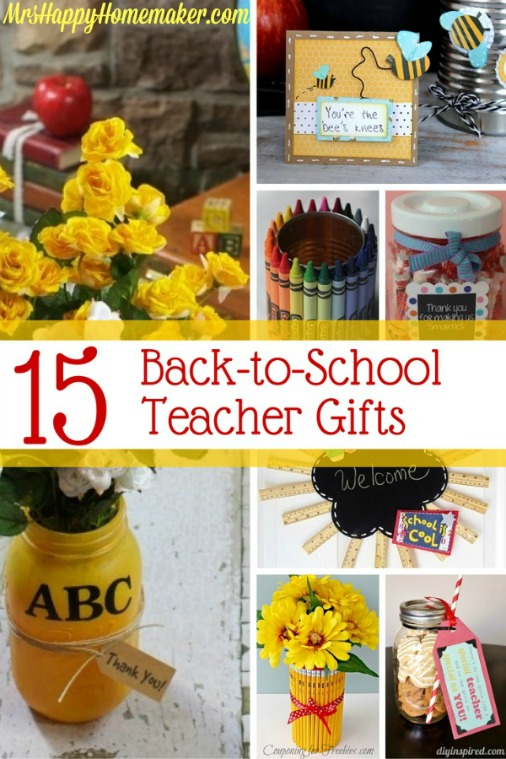 15 Back to School DIY Teacher Gift Ideas