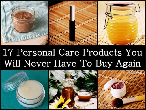17 Personal Care Products You Will Never Have To Buy Again