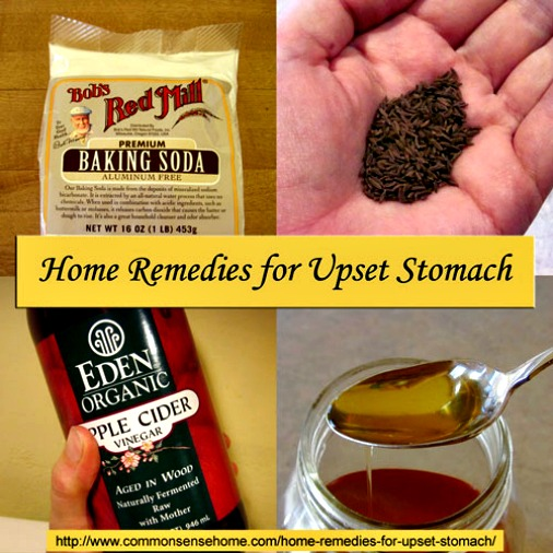 7 Home Remedies for an Upset Stomach ~ Help for those Tummy Aches  HOW