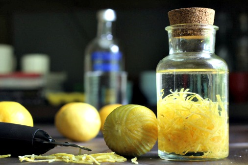 How To Make Homemade Lemon Extract
