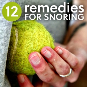 12 Remedies for Snoring