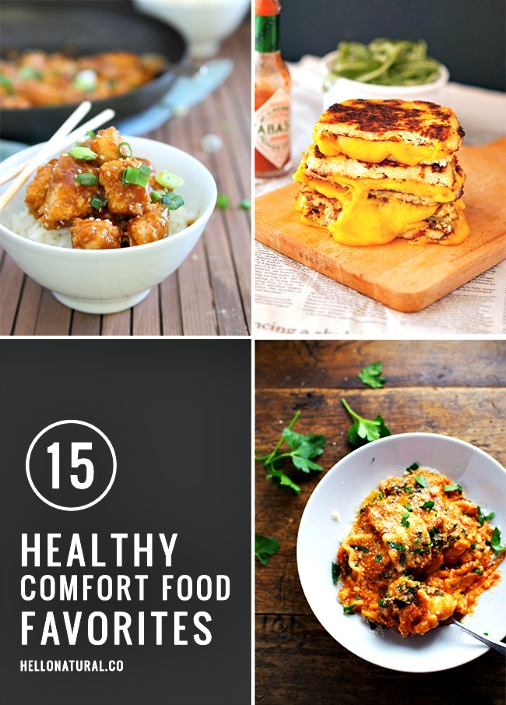 15 Healthy Comfort Food Makeovers