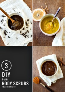 3 Autumn DIY Body Scrubs to Slough Off Summer