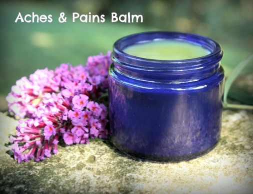 Homemade Aches & Pains Balm Recipe