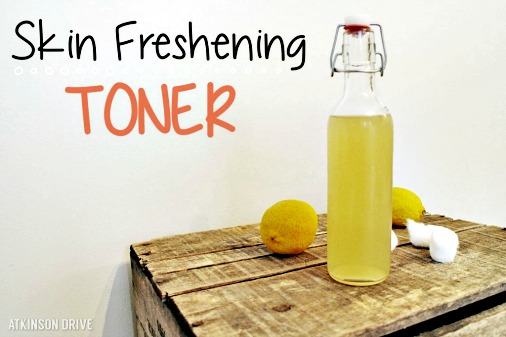 Homemade Skin Freshening Toner Recipe