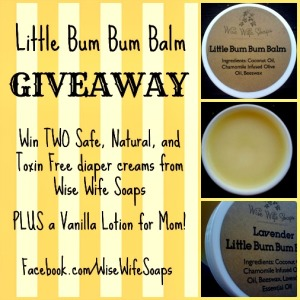 Announcing the Little Bum Bum Baby Balm Giveaway