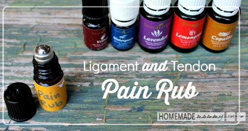 Homemade Ligament and Tendon Pain Rub Recipe