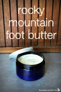 How to Make Rocky Mountain Foot Butter