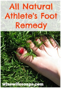 2 Natural Remedies to Treat Athlete's Foot