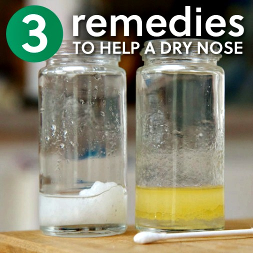3 Incredible Easy Remedies to Help a Dry Nose