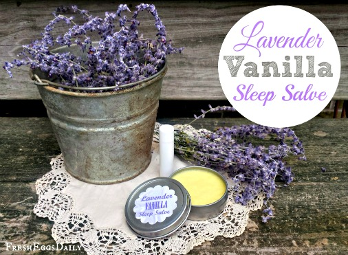 Lavender Vanilla Sleep Salve and Sleep Stick Balm