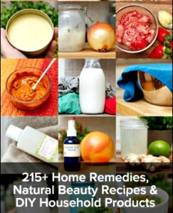 Herbal Remedies Book – Health, Beauty & Cleaning Recipes